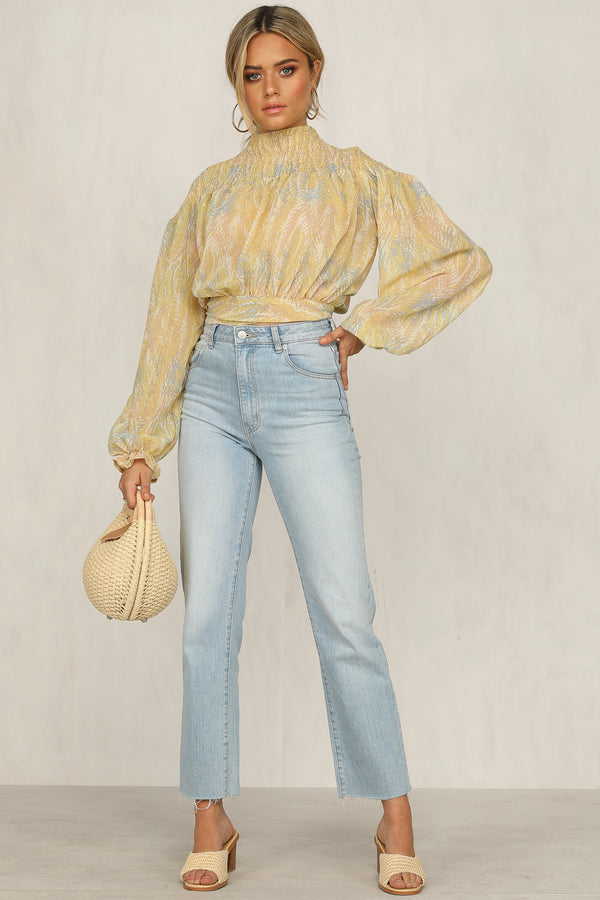 Like An Angel Top (Yellow)