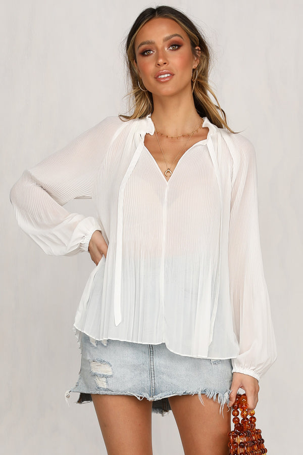 Addie Top (White)