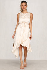 Fractured Light Dress (Ivory)