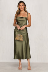 Touch Of Grace Skirt (Khaki)