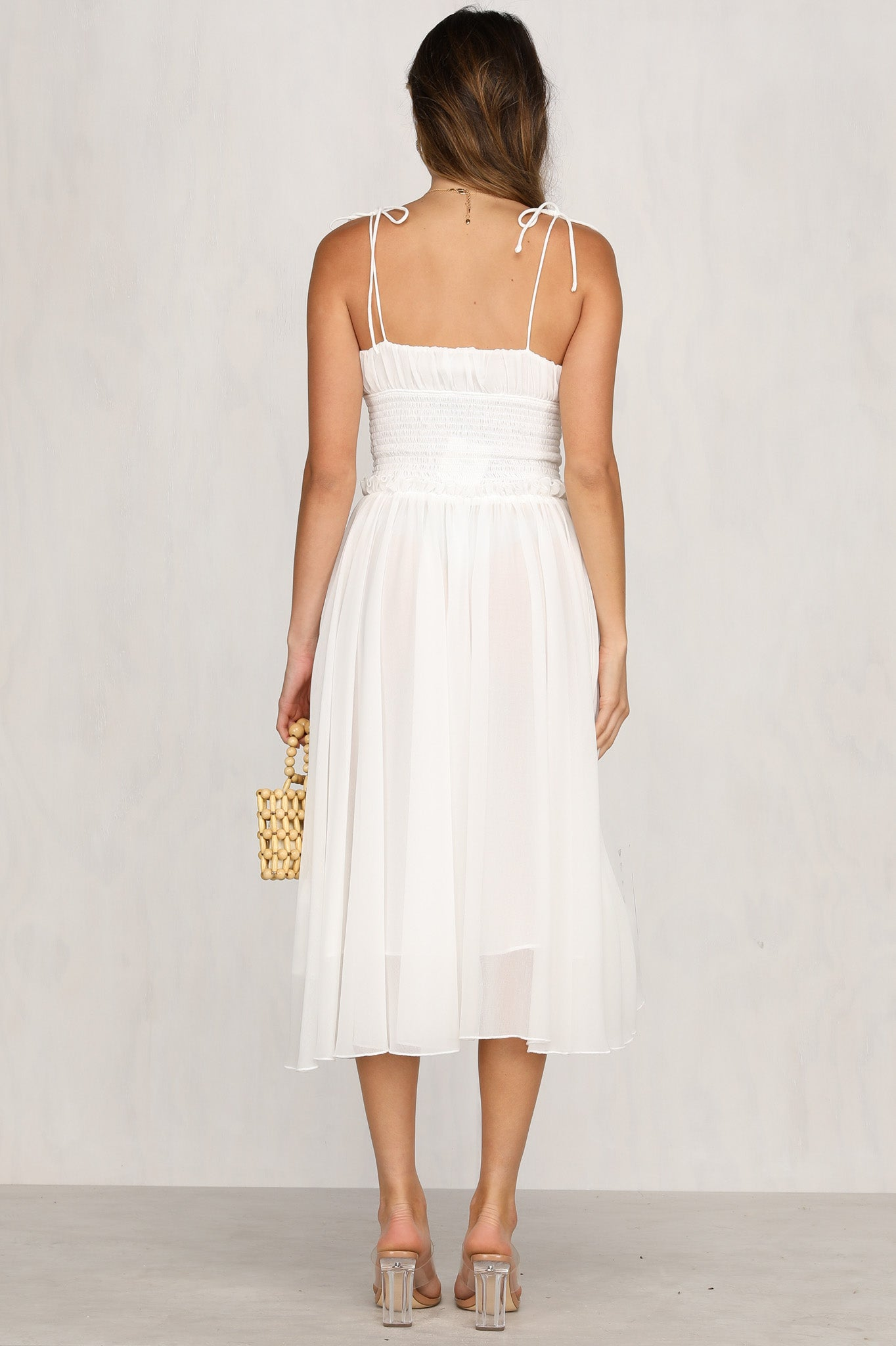Love Finds A Way Dress (White)