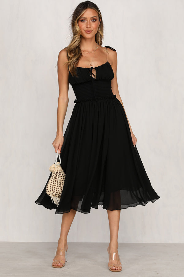 Love Finds A Way Dress (Black)