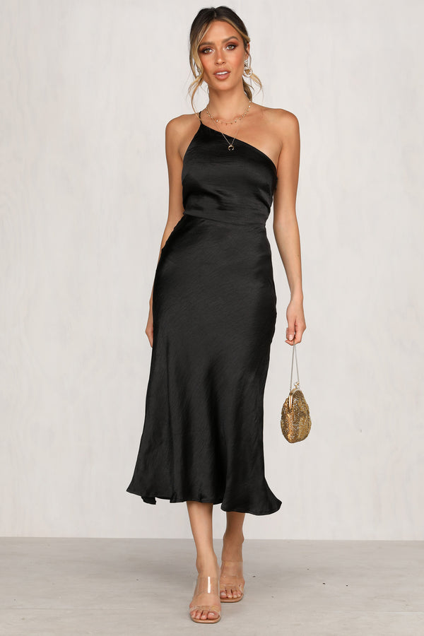 Longer You Love Dress (Black)