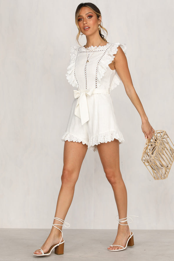 Lara Lace Playsuit