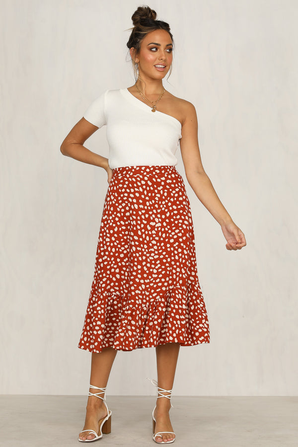 Bleeding Heart Skirt