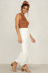 Waters Edge Pants (Ivory)
