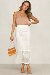 Safe Hiding Skirt (White)