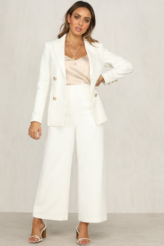 Carter Blazer (White)