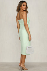 Villa Midi Dress (Mint)