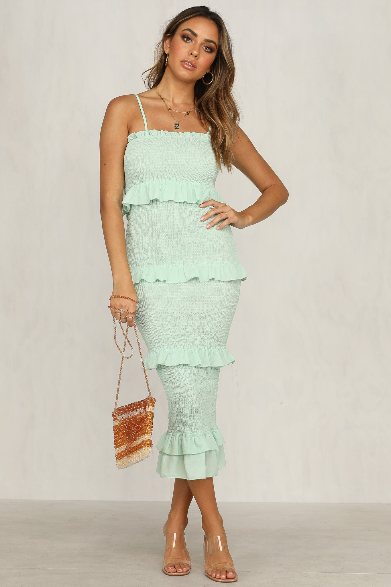 Endless Summer Dress (Mint)