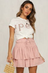 Breaking Free Skirt (Pink)