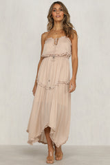 Heartlander Dress (Beige)