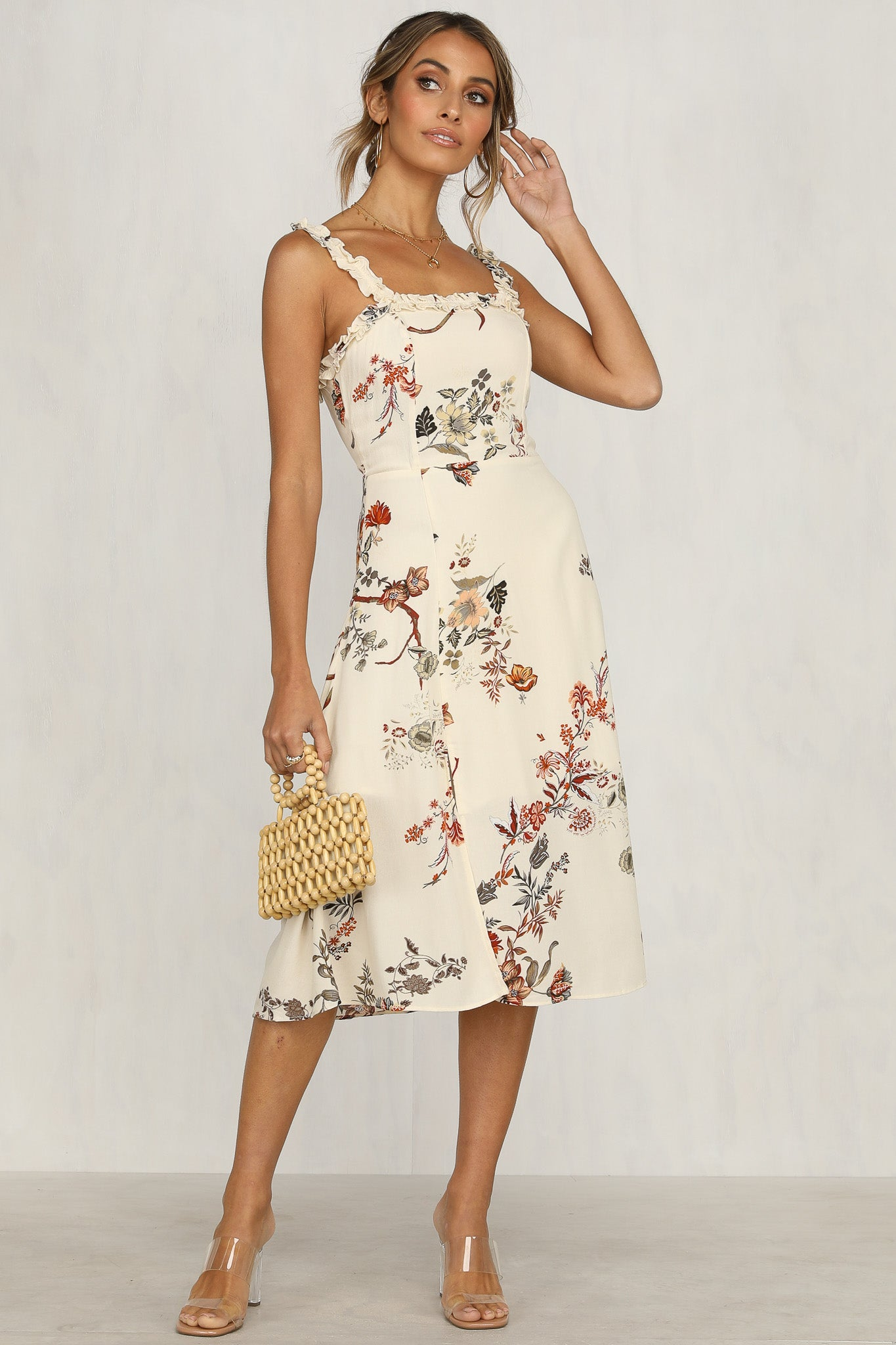 Picture Perfect Dress (Floral)