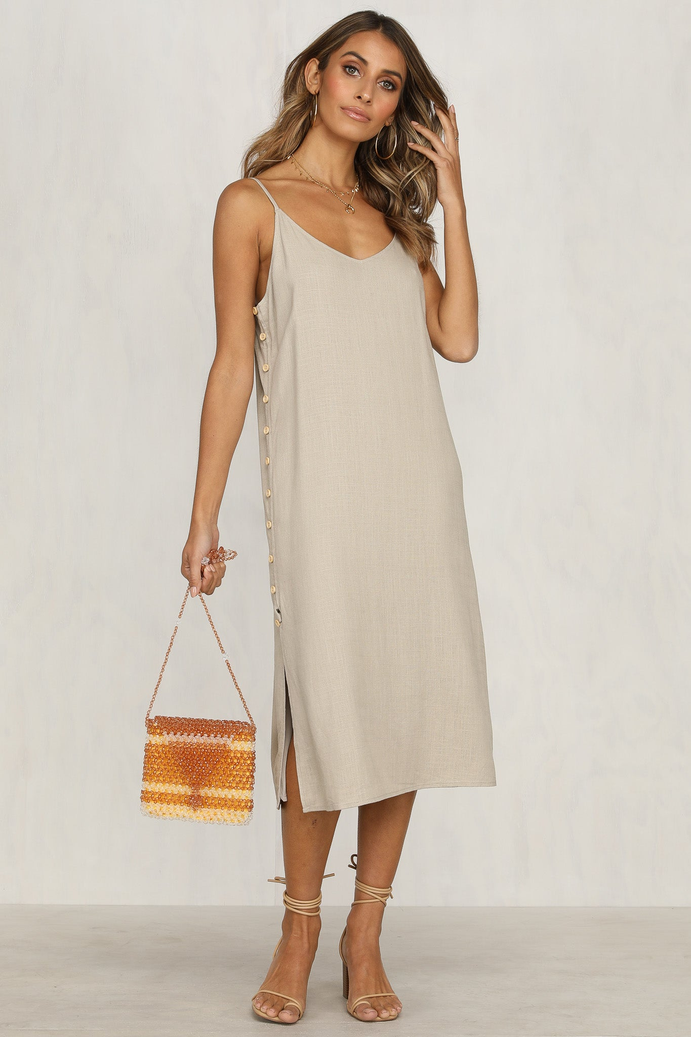 Joshua Tree Maxi Dress (Mocha)