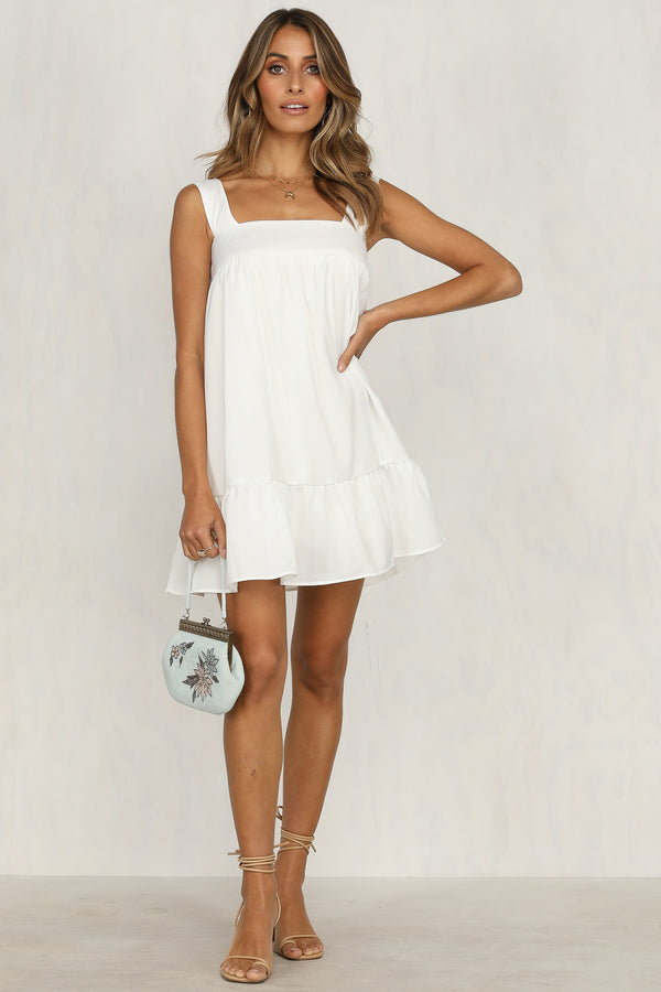 Marisol Dress (White)