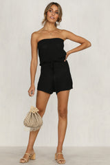 Deal Breaker Playsuit (Black)