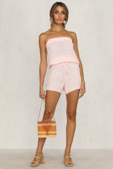Deal Breaker Playsuit (Pink)