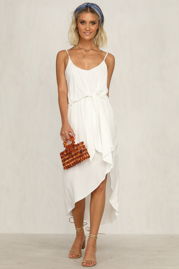 South Hampton Dress (White)