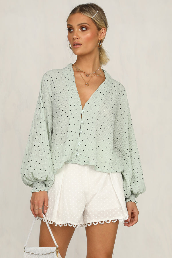Annalyse Top (Mint)