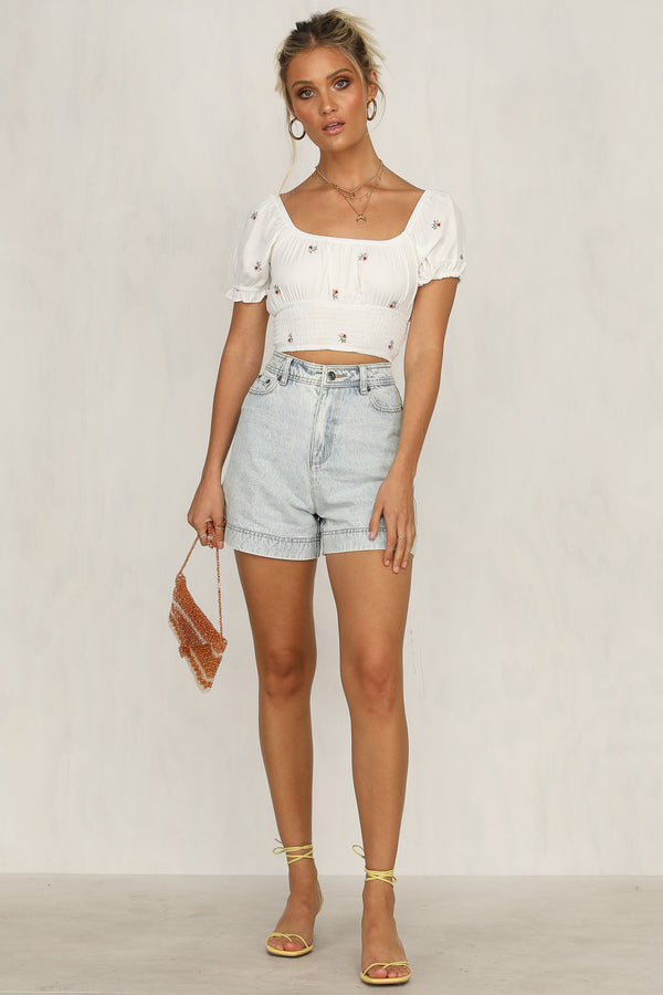 Davy Shorts (Denim)
