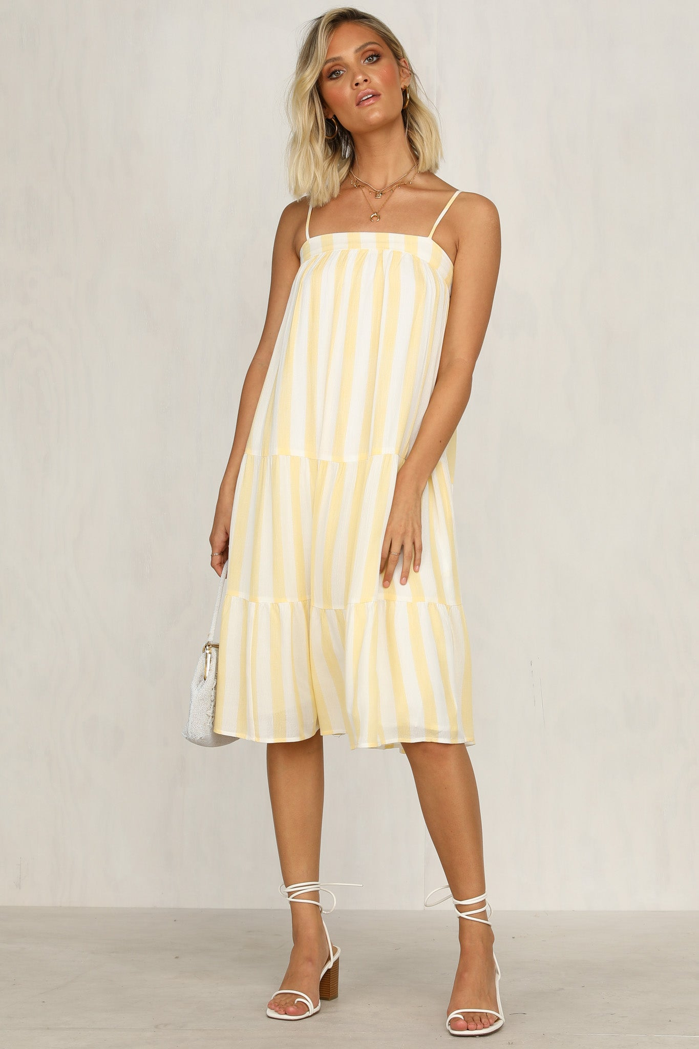 Deep Within Dress (Yellow)