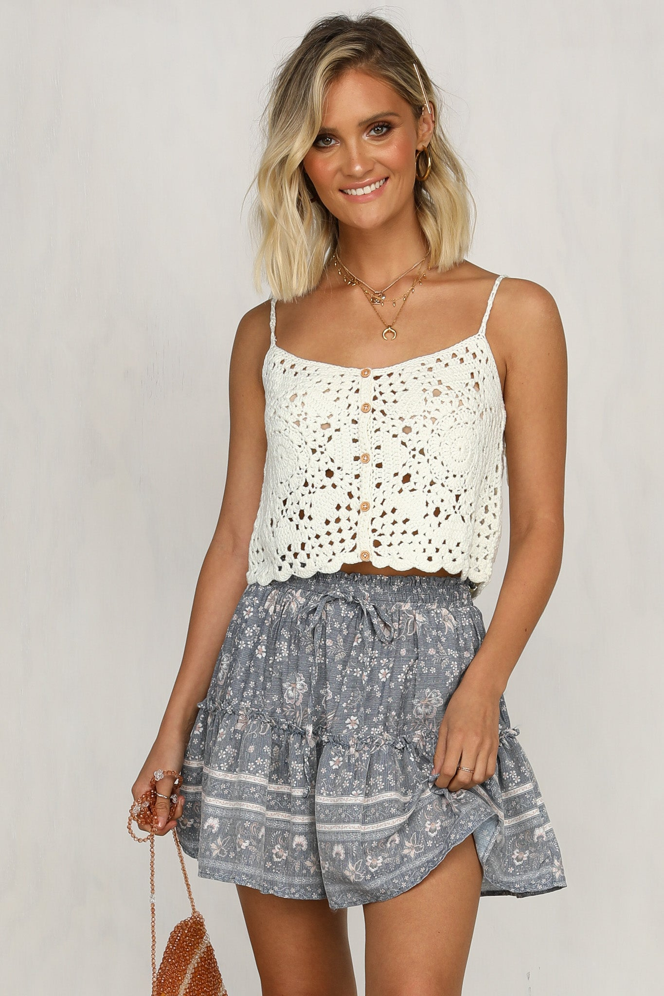 Palm Beach Top (Ivory)