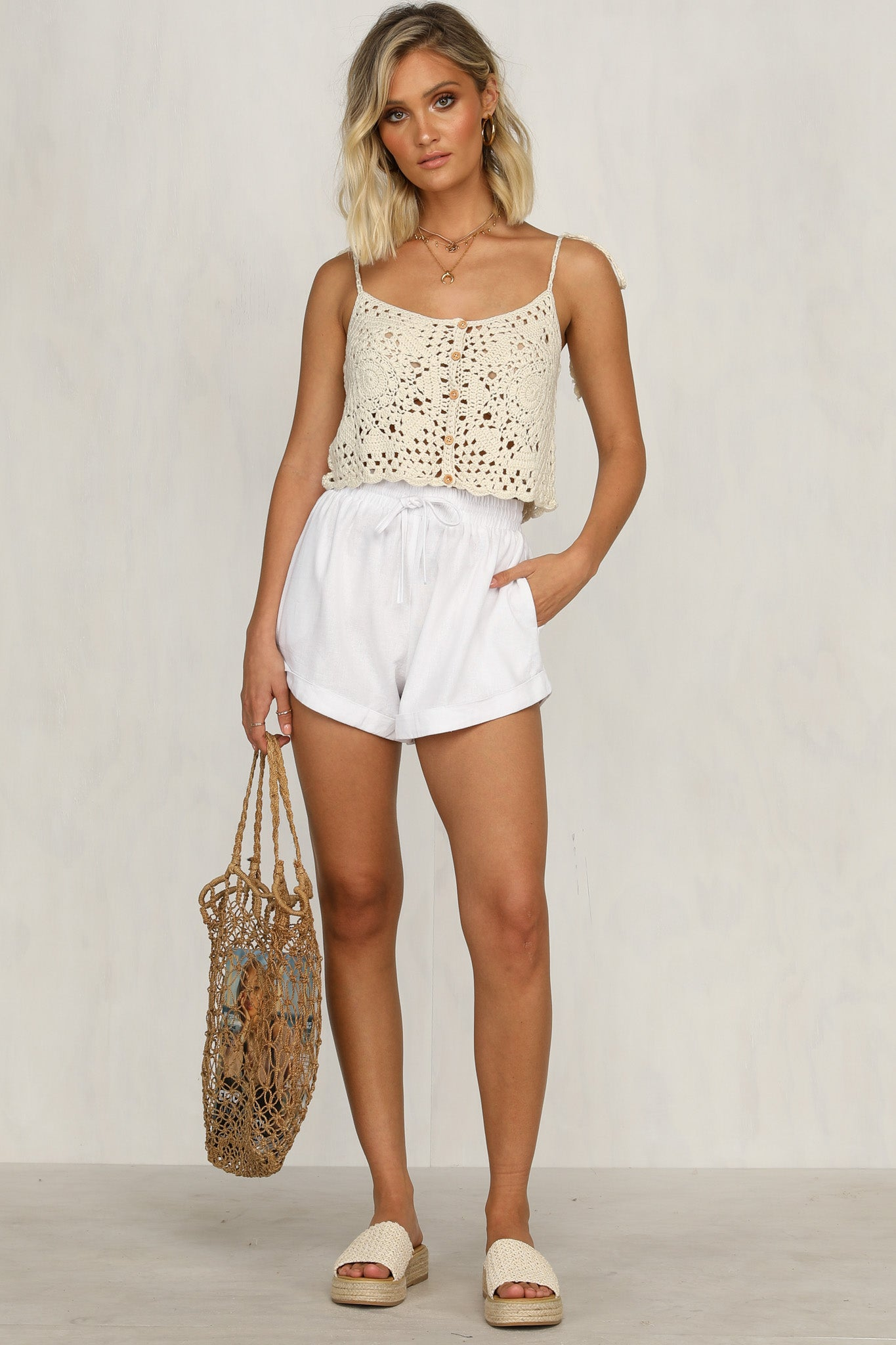 Palm Beach Top (Beige)