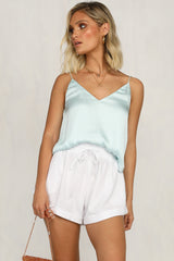 Pure Romantic Cami (Teal)
