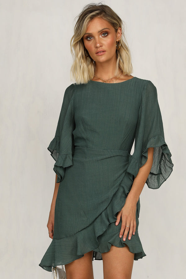 All Fired Up Dress (Green)