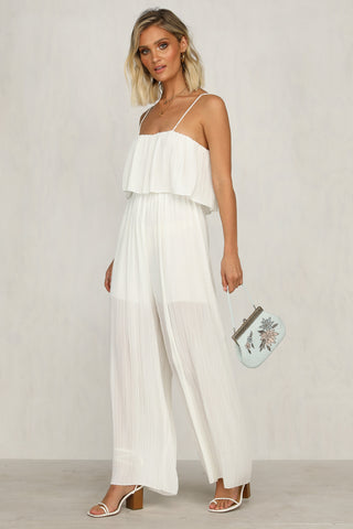 All My Love Jumpsuit (White)
