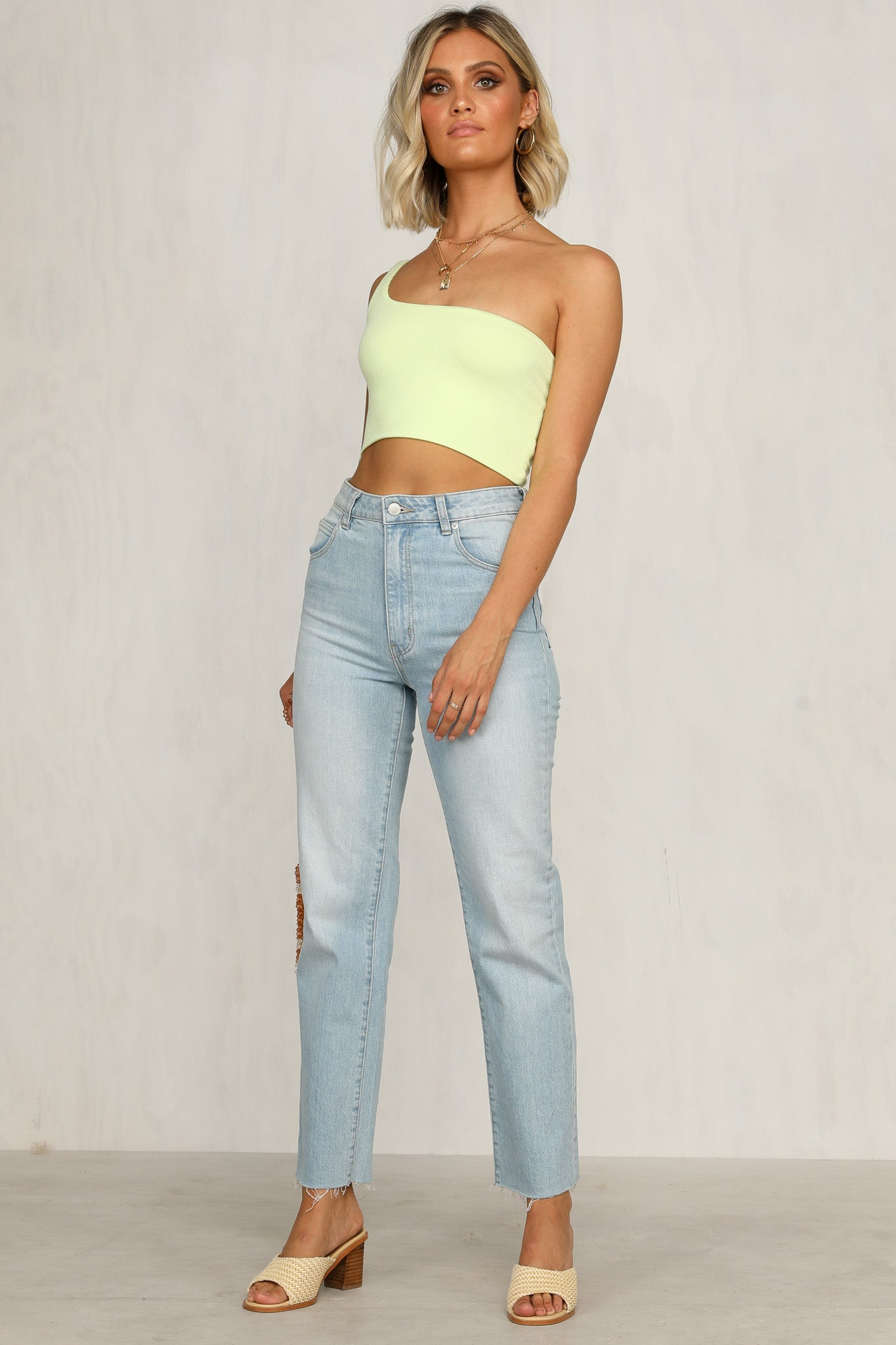 Not So Basic Top (Lime)