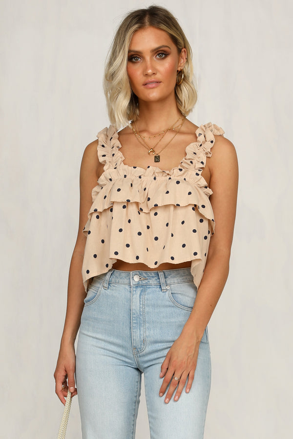 Win Win Top (Beige)