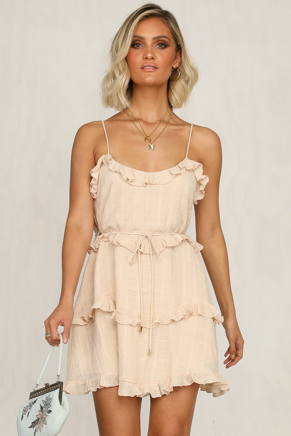 Xander Dress (Beige)