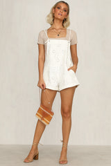 Good Graces Denim Playsuit