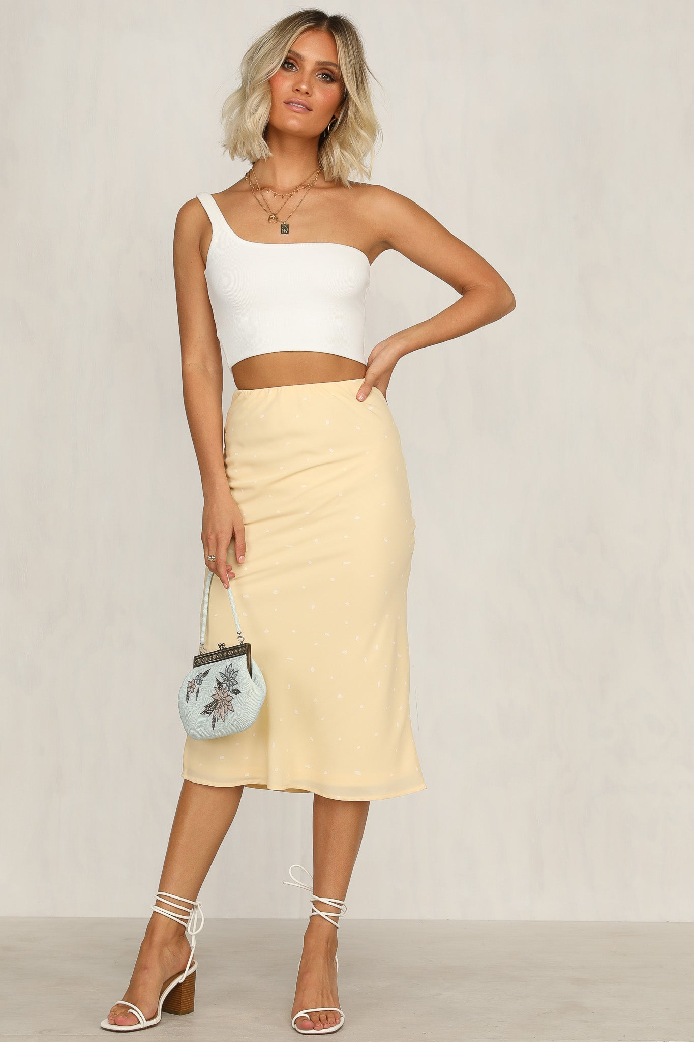Don't Ask Skirt (Yellow)