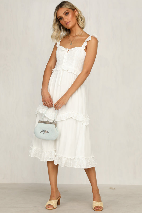 White Grove Dress