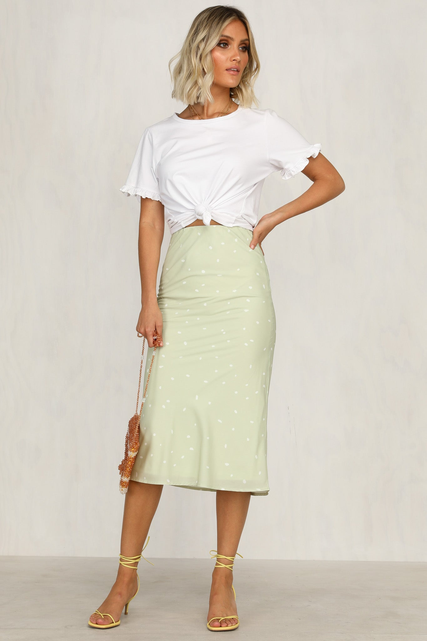 Don't Ask Skirt (Green)