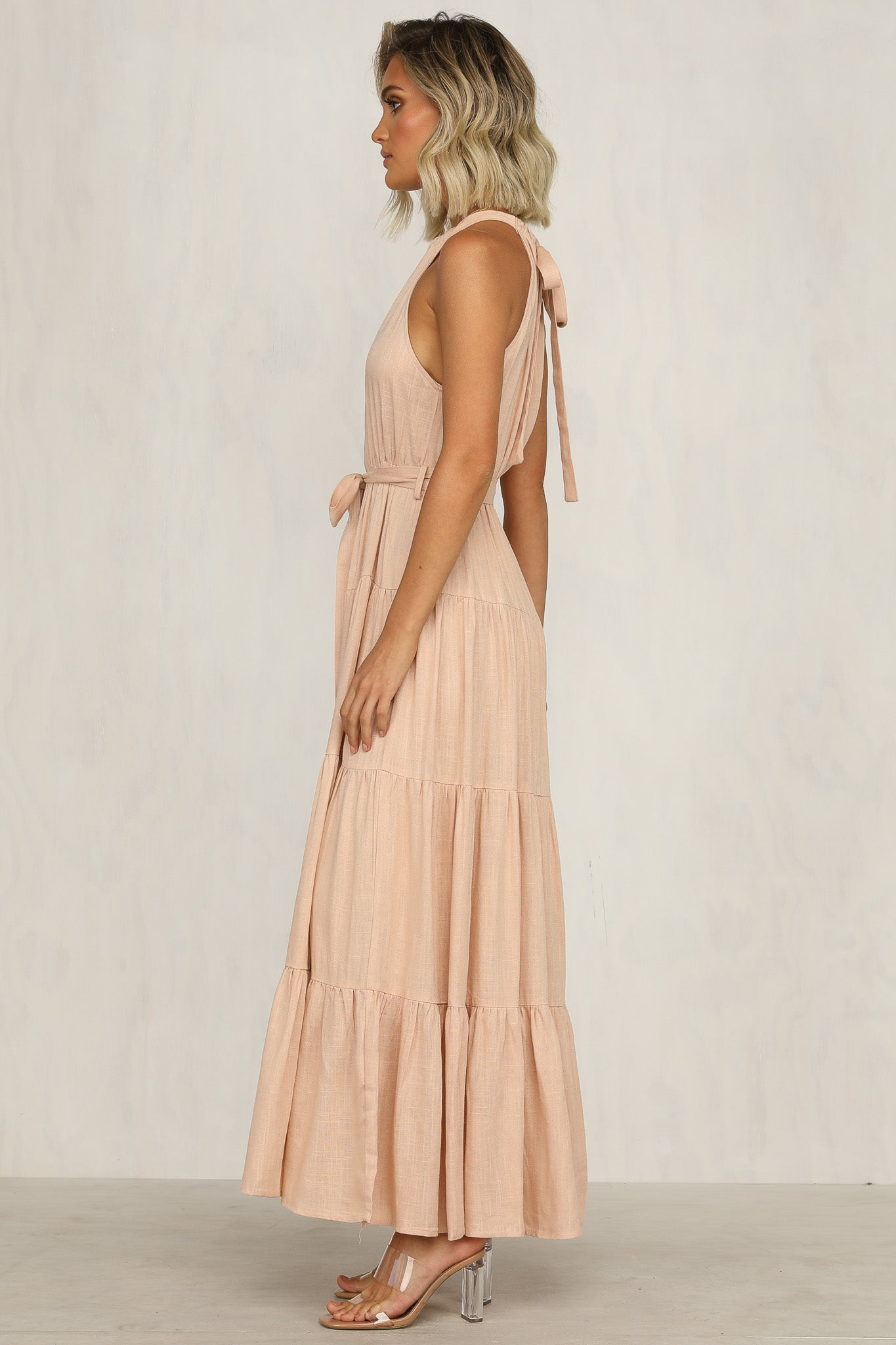 The Hills Dress (Blush)