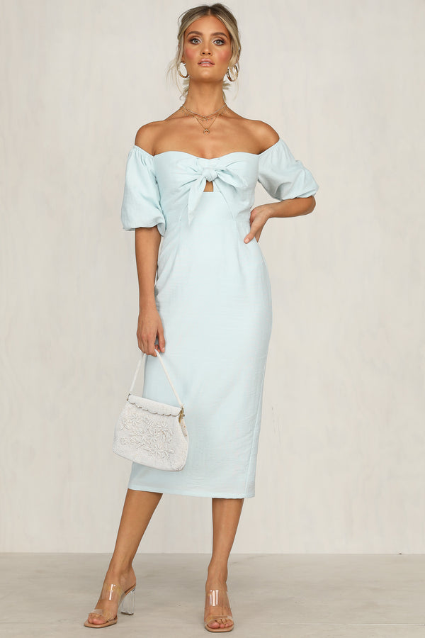 Isidora Dress (Blue)