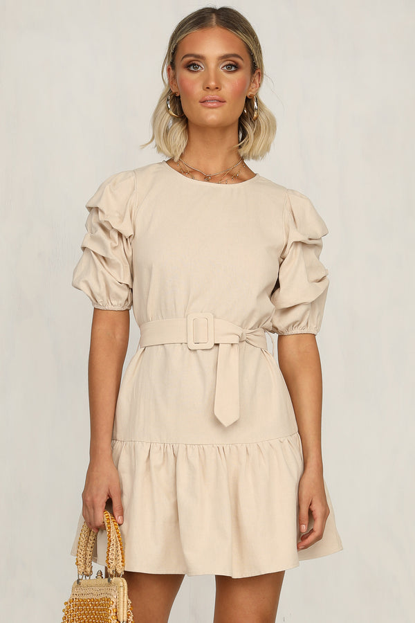 Real Love Dress (Beige)