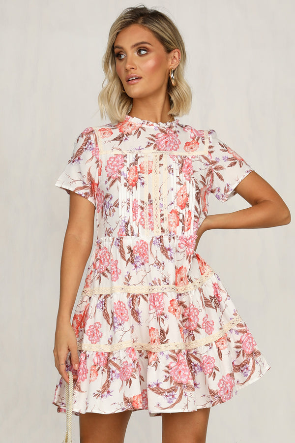 Make It A Date Dress (White)