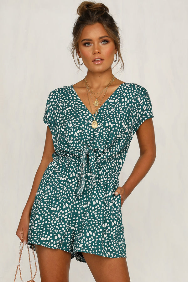 Free Me Up Playsuit (Green)