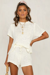 Finn Knit Set (White)