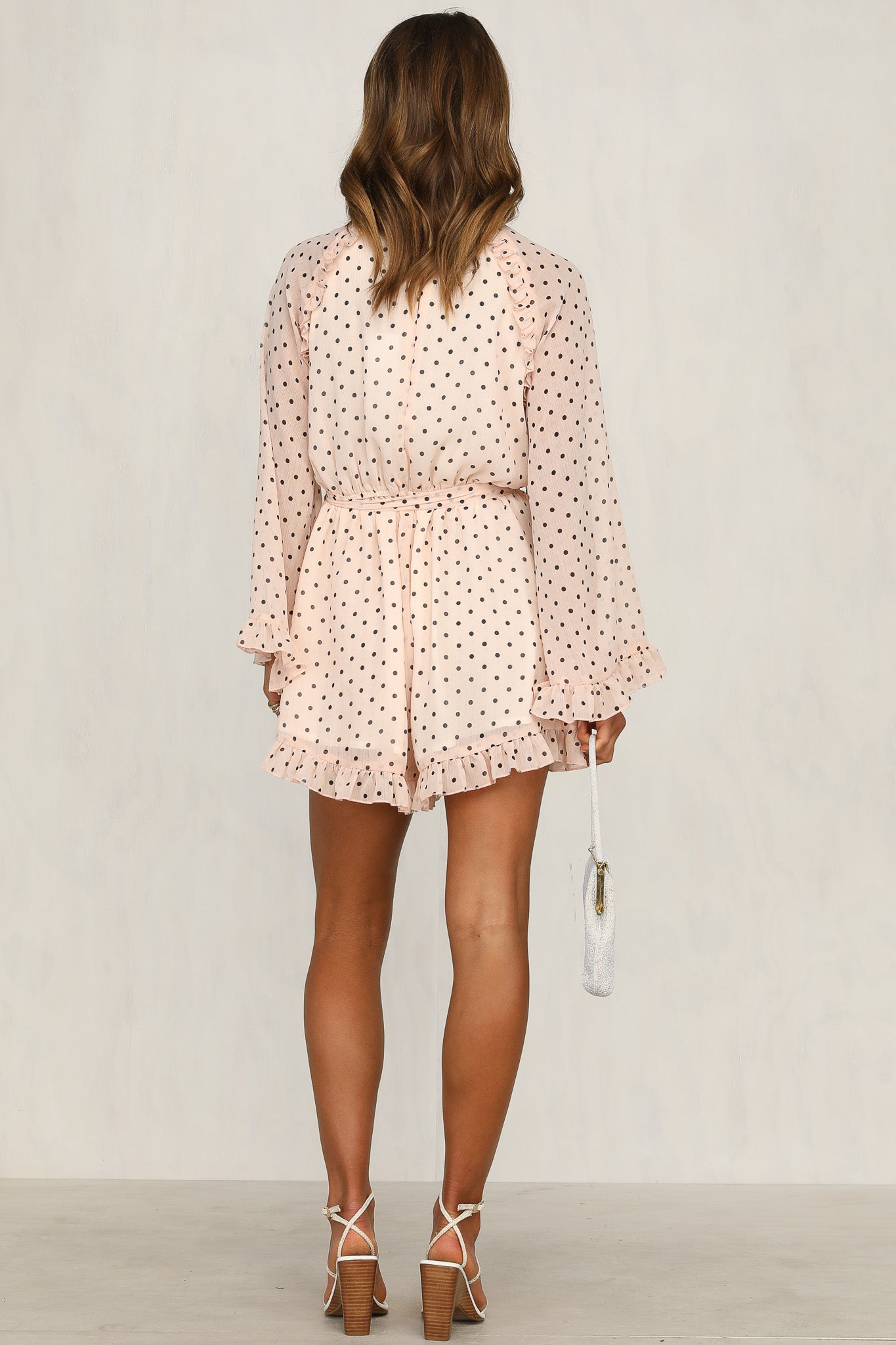 Coming Up Rosy Playsuit (Pink)