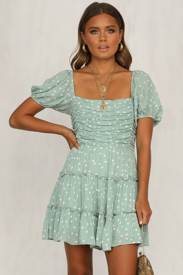 Arabella Dress (Mint)