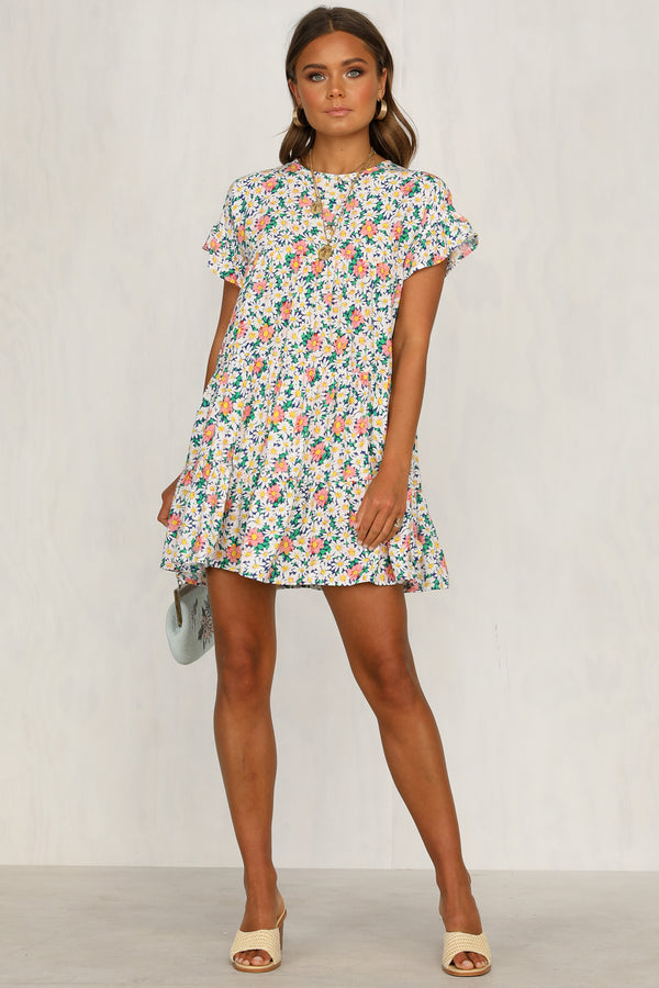 Georgie Dress (Multi Floral)