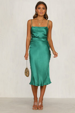 Sofia Dress (Emerald)