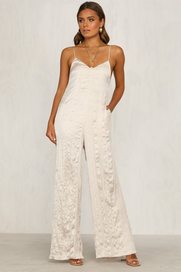 Slip Up Jumpsuit