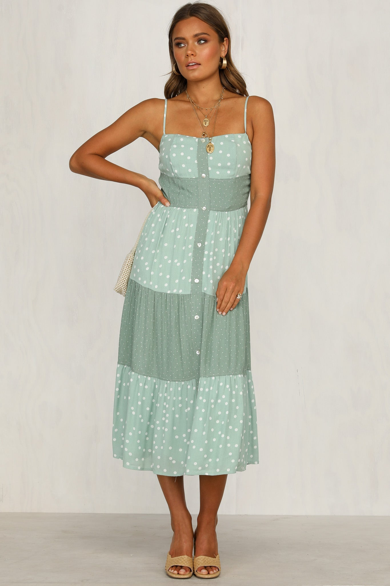Out Of Love Dress (Mint)