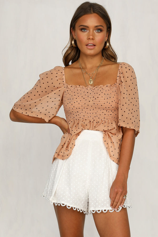 Elliot Top (Peach)